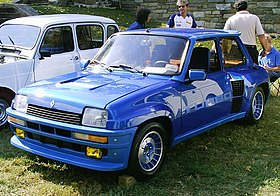Renault 5 Turbo-RockvilleMDshow2007.jpg