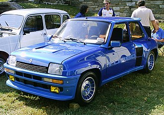 Grey import vehicle - Renault 5 Turbo