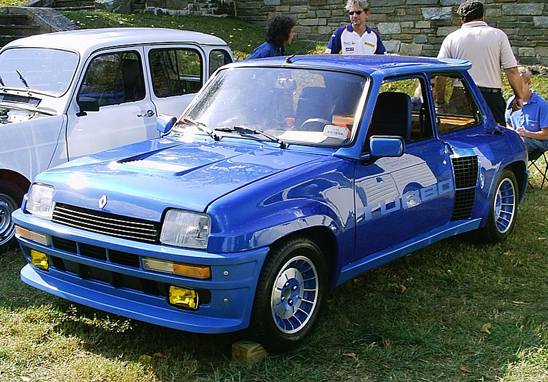 Renault 5 turbo rockvillemdshow2007 jpg simple english wikipedia