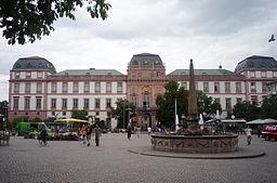 Residenzschloss am Marktplatz, Darmstadt