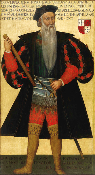 Fernão Pires de Andrade - Afonso de Albuquerque, who launched the attack to conquer the Malacca Sultanate and commissioned the first direct European maritime contacts with China during the Ming dynasty.