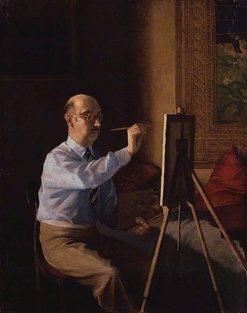 Rex whistler   gerald tyrwhitt wilson, 14th baron berners 1924