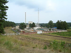 Rheinsberg Nuclear Power Plant - Image: Rheinsberg nuclear plant