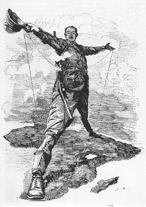 Political economy in anthropology - Cecil Rhodes, driving force of British imperialism in Africa