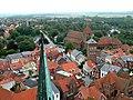 Ribe - Blick über Altstadt 2 Katharinenkirche.jpg