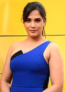 Richa Chadda promotes Amazon web series.jpg