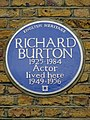 Richard Burton 1925-1984 Actor lived here.jpg