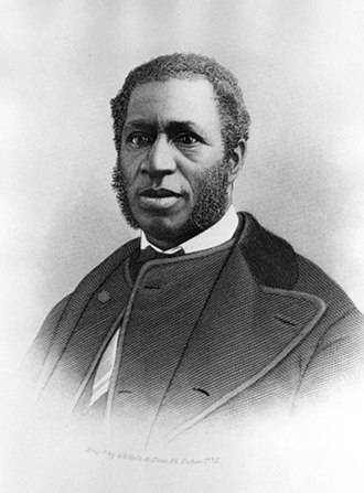 Emanuel African Methodist Episcopal Church - The Rev. Richard Cain, pastor of the church and member of the U.S. House of Representatives during Reconstruction