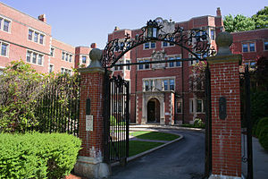 Richmond Court - Image: Richmond Court, Brookline, Massachusetts