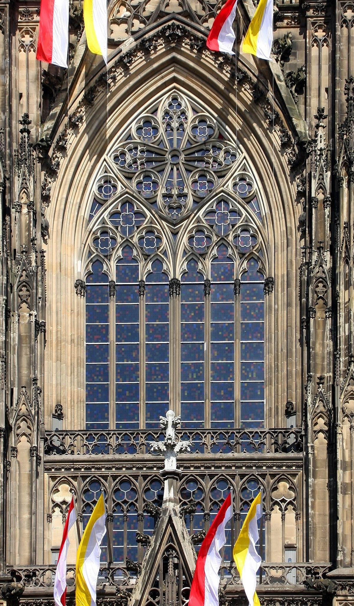 File Richter Fenster Von Aussen Kolner Dom Jpg Wikimedia Commons