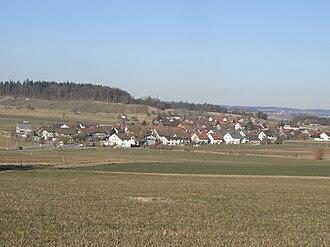 Rickenbach, Zürich - Rickenbach village