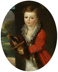 Portrait of Zygmunt Krasiński as a child.
