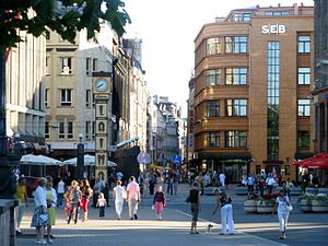 Kaļķu iela - Image: Rigalatviacitycenter