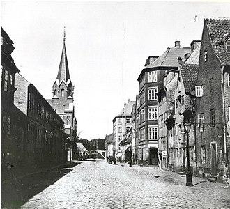 Rigensgade - Tigensgade in c. 1910