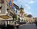 Rijeka-Korzo mit Stadtturm.jpg