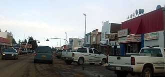Rimbey - Store fronts in Rimbey