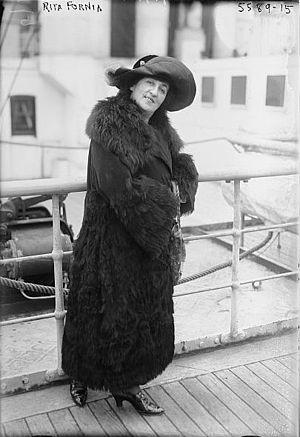 Rita Fornia - Rita Fornia photographed in 1915