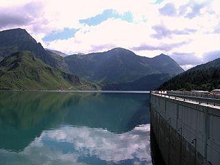 Lago Ritom reservoir