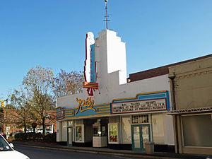 Post Office Historic District (Greenville, Alabama) - Image: Ritz Theatre Greenville Nov 2013