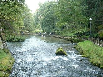 Bosna (river) - Image: River Bosna, Sarajevo (4)