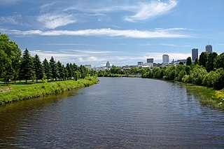 Saint-Charles River river of Quebec City in Canada
