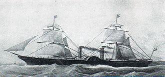 Cunard Line - Persia of 1856 (3,300 GRT)