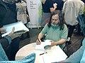 Rms signing books (6331839061).jpg