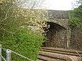 Road Bridge over railway, Goetre - geograph.org.uk - 407083.jpg