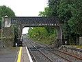 Road bridge by Dromod Railway Station, Dromod-Dromad - geograph.org.uk - 2069853.jpg
