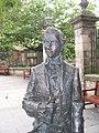Robert Fergusson statue, Edinburgh (geograph 1475056).jpg