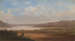 View of Lake Pepin, Minnesota