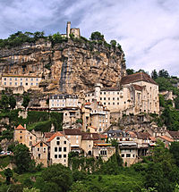 Pèlerinage à Racamadour (lot) dans VILLAGES de FRANCE 200px-Rocamadour-panorama