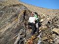 Rock Outcrop on Axel Heiberg Island in Nunavut in Canada 1.jpg