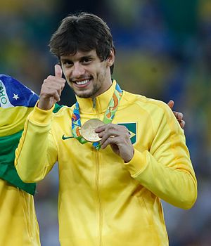 Rodrigo Caio - Rodrigo Caio at the 2016 Olympics