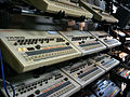 Roland TR-909 & TR-808 Rhythm Composers @ Five G music technology, Harajuku - 2010-09-03 (by j bizzie).jpg