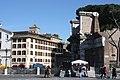 Rom, Minervatempel, Kirche San Quirico e Giulitta und Hotel Forum.JPG