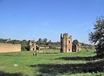 Roma Appia Antica - Circo di Massenzio Torri.JPG