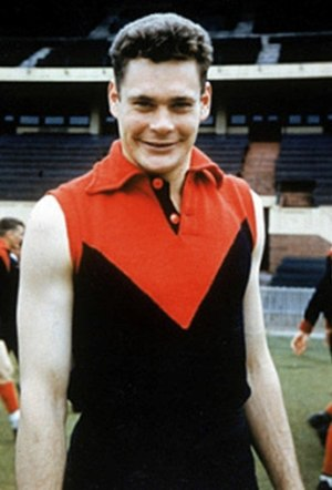 Ron Barassi - Barassi in 1953 for Melbourne