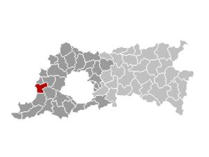 Roosdaal - Image: Roosdaal Locatie