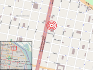 Rosario gas explosion - location map.png