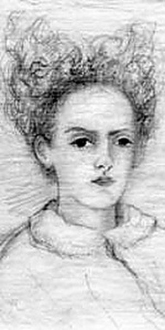 Rose La Touche - Rose La Touche, as sketched by John Ruskin.