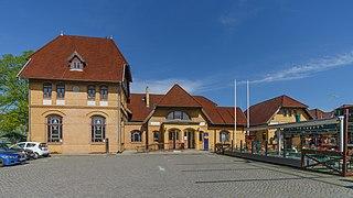 Warnemünde station Railway station in Mecklenburg-Vorpommern, Germany