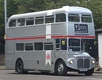 Routemaster SRM3 (RM1650) (650 DYE), heritage route 9, 29 October 2013 cropped.jpg