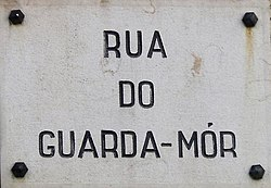 Rua do Guarda-Mor, Lisboa, Portugal, Placa.jpg