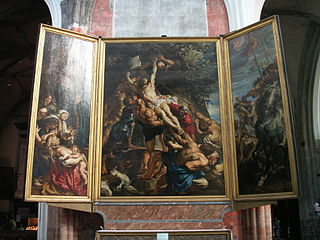 L'Érection de la croix (Rubens)