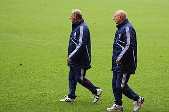 Rüdiger Abramczik - Rüdiger Abramczik (left) and Werner Kasper