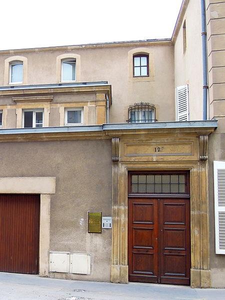 Immeuble, 12 rue des Bénédictins (Inscrit, 1929)