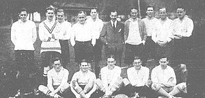 Rugby union in Chile - An English rugby union team in Valparaiso 1925.