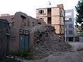 Ruins of an Old brick thatch house - North Qavvani ave - near Al-Reza Mosque - Nishapur 02.JPG