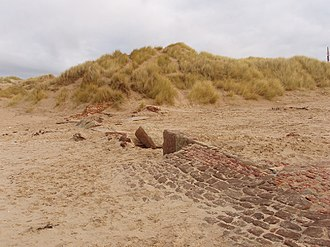 Independent lifeboats in Britain and Ireland - Ruined remains of Formby lifeboat station